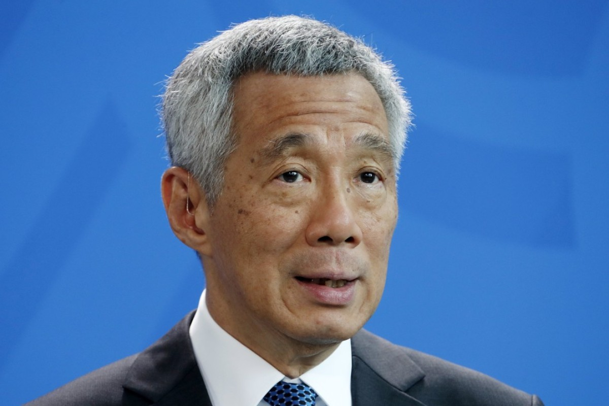 The prime minister of Singapore, Lee Hsien Loong. Photo: EPA