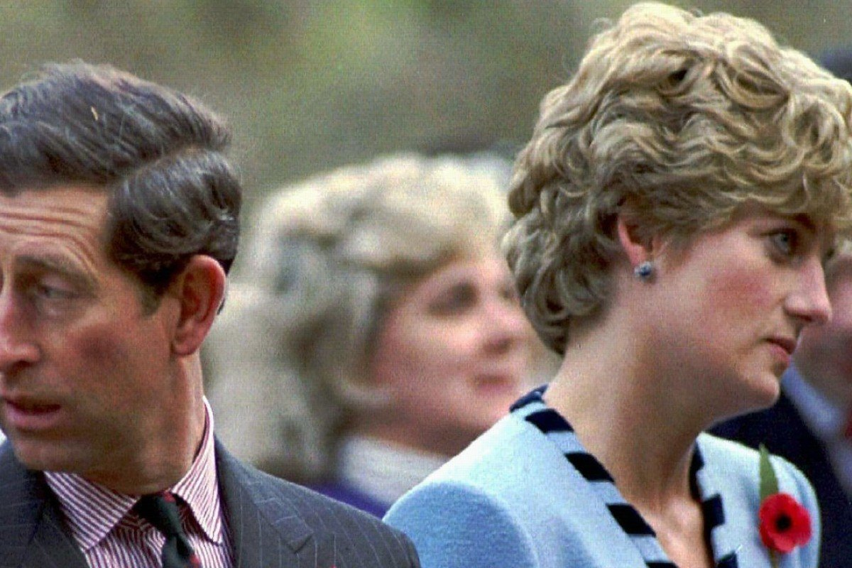Princess Diana and Prince Charles, in November 1992. Picture: Reuters
