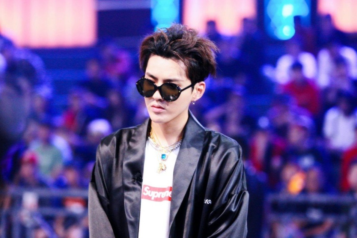 Kris Wu is one of The Rap of China's four judges.