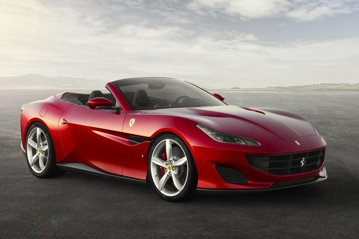 Ferrari's Portofino convertible grand tourer.