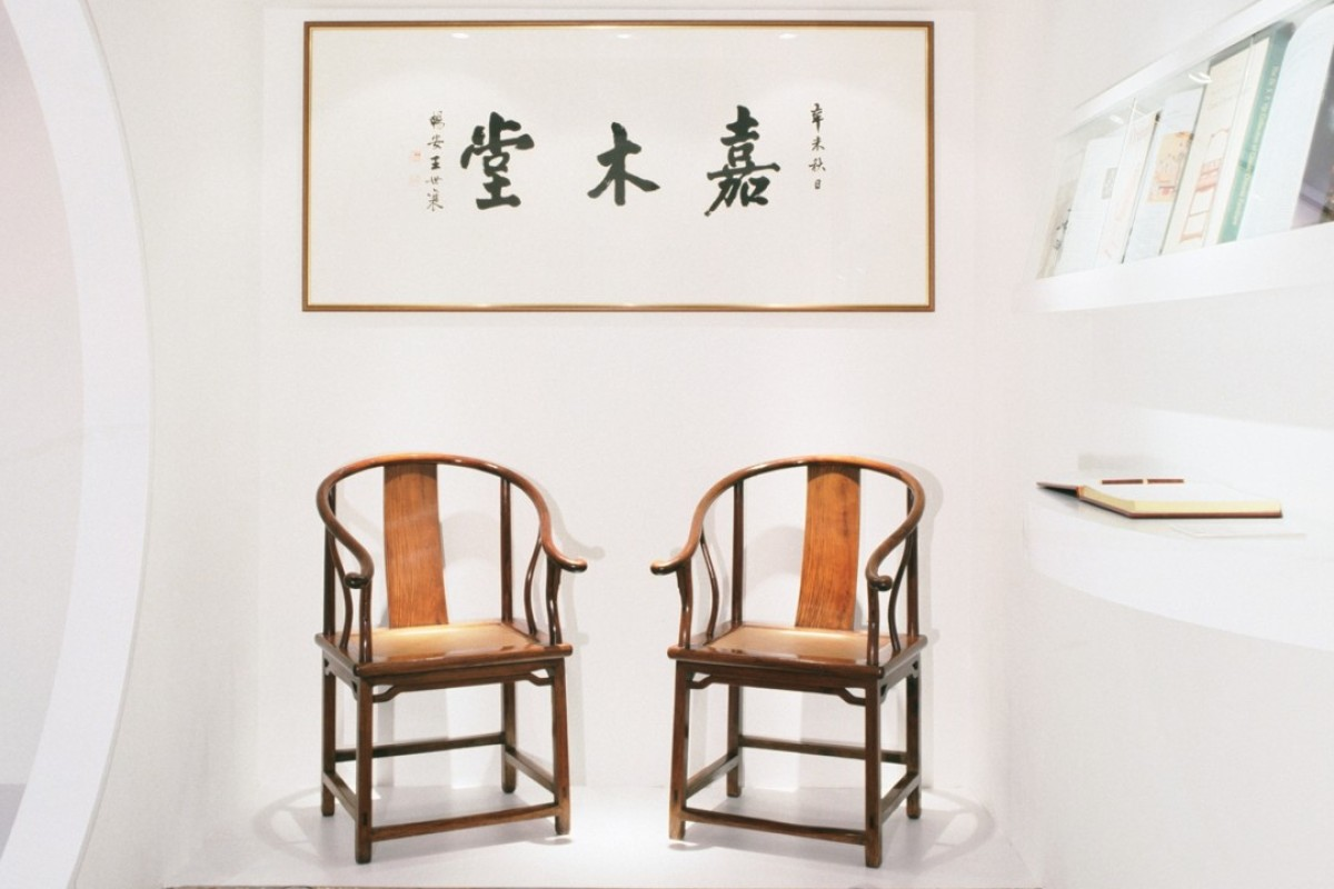 A Display At The Grace Wu Bruce Gallery On Arbuthnot Road In Central