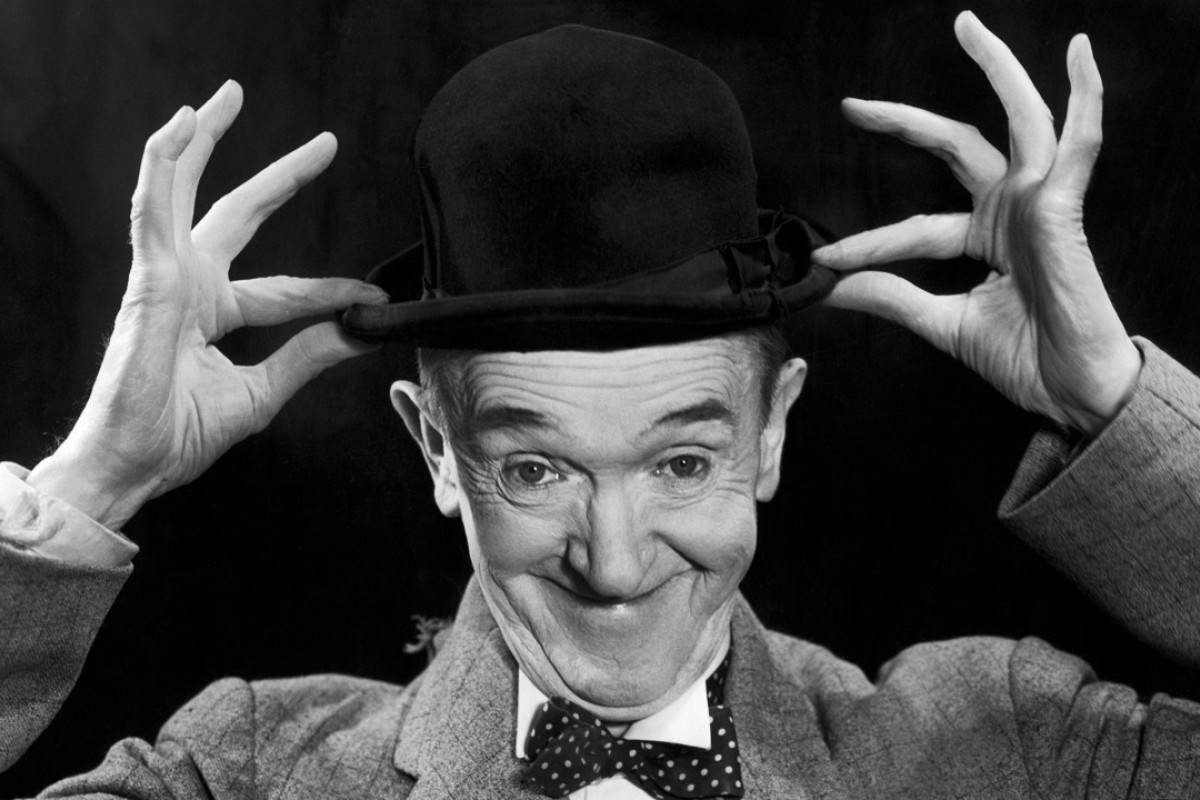 Stan Laurel, of Laurel and Hardy fame. Picture: Alamy