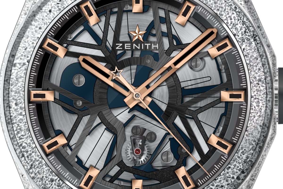 Zenith's newly revealed Defy Lab (pictured here in black rose gold) features a new oscillator, representing a major innovation in the watch industry.