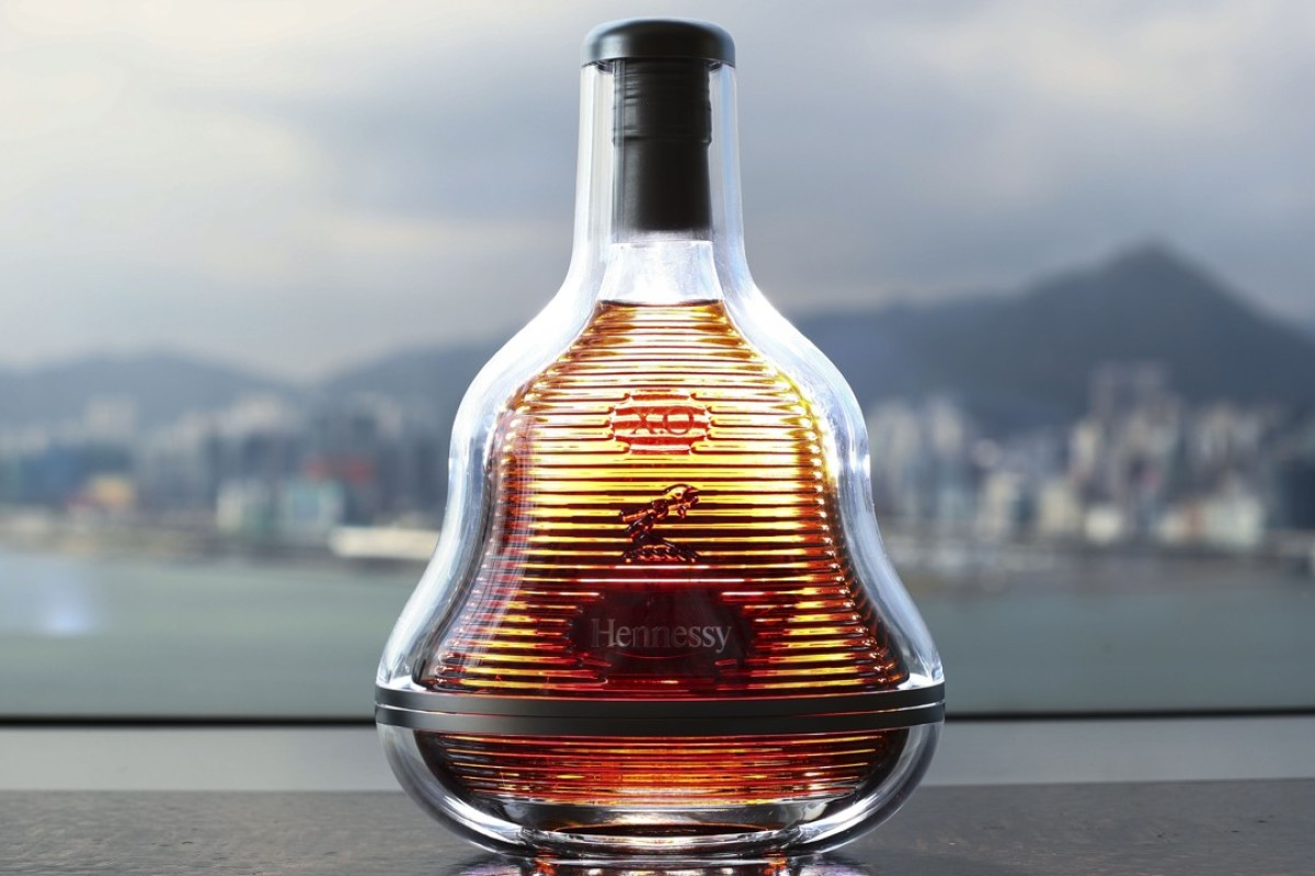 The Marc Newson-designed Hennessy X.O limited edition bottle launches in Hong Kong. Photo: Nora Tam