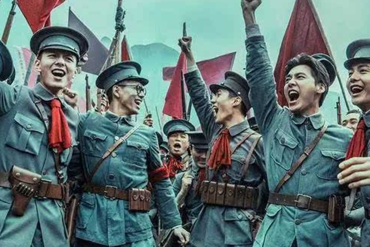 Some critics blamed mainland China's group of young, good-looking actors, dubbed 'little fresh meat', for the off-target box-office takings of the war film, 'The Founding of An Army'.