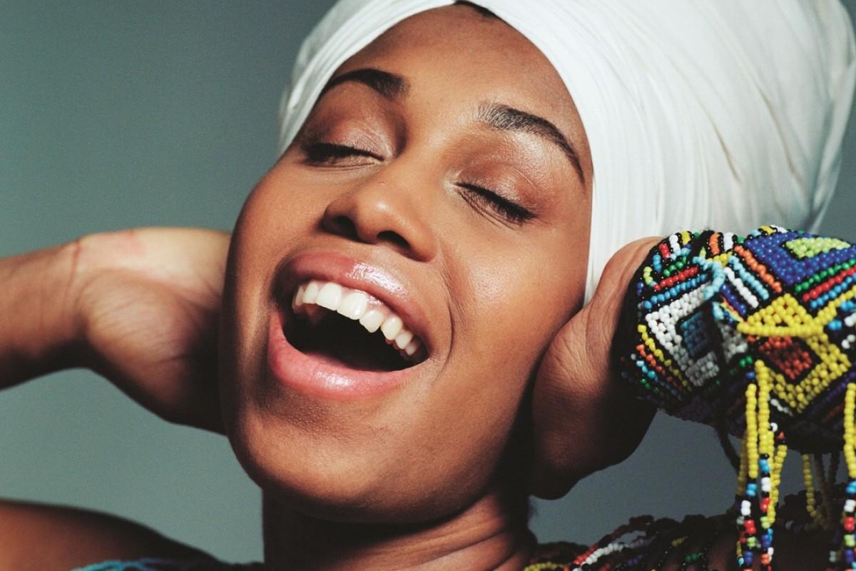 Jazz singer Jazzmeia Horn. Photo: Jacob Blickenstaff.