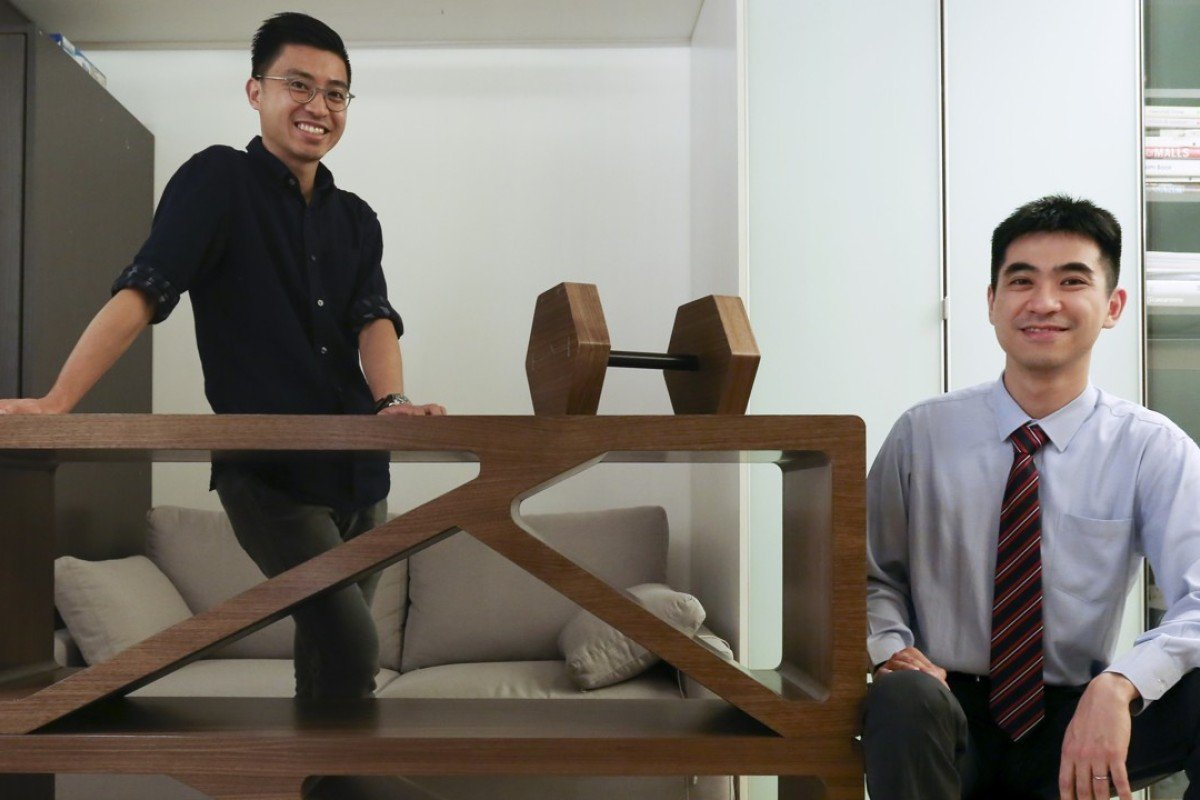 Glory Tam (left) And Albert Au With Some Of Their Multi Functional Furniture
