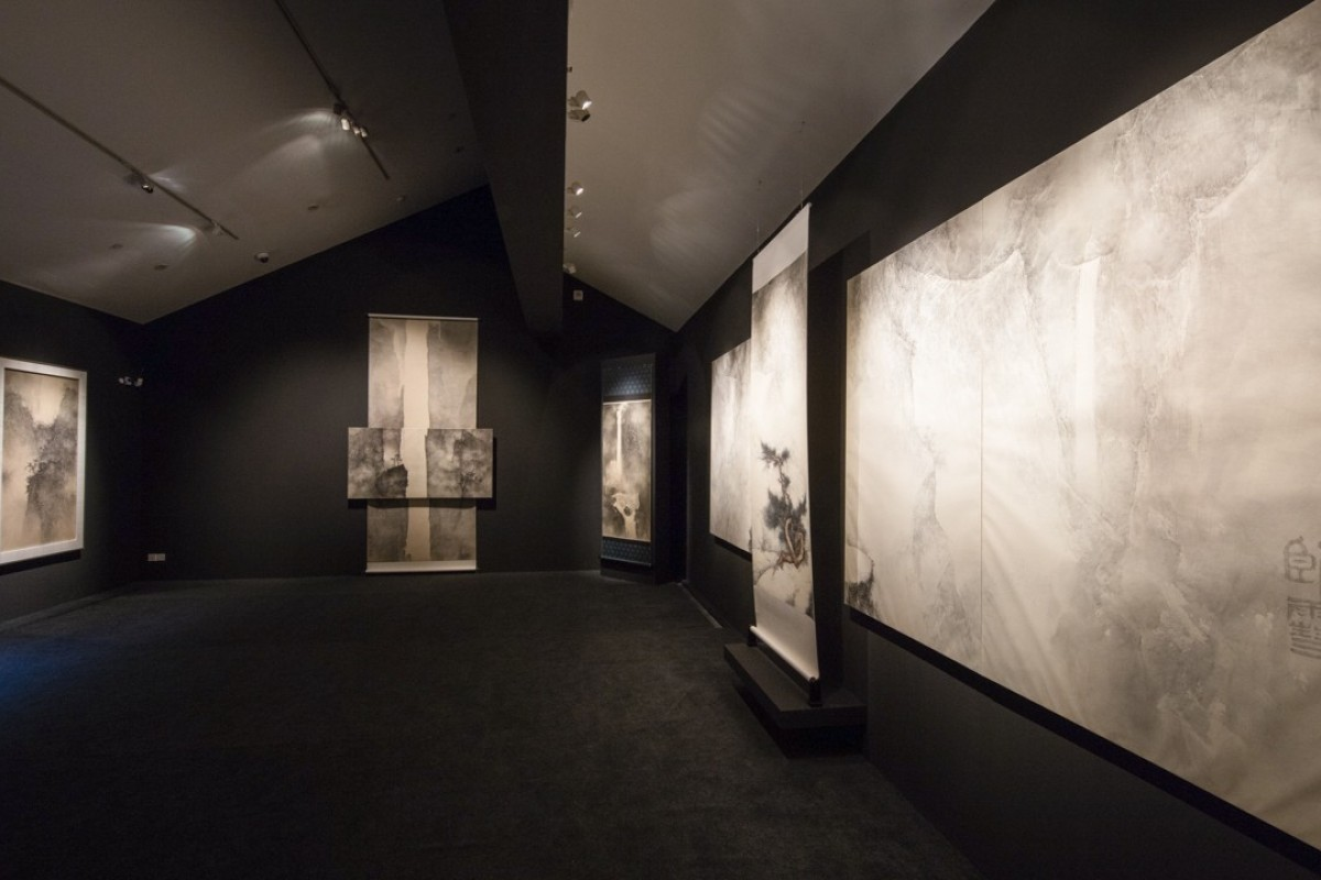 "The ""Fantasies on Paper and Enchantment in Gold – Solo Exhibition of Li Huayi"" at Suzhou Museum."