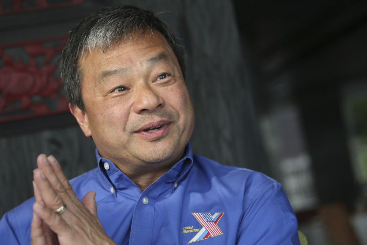 Chinese American astronaut Leroy Chiao, now retired from space, runs a global education programme. Picture: David Wong