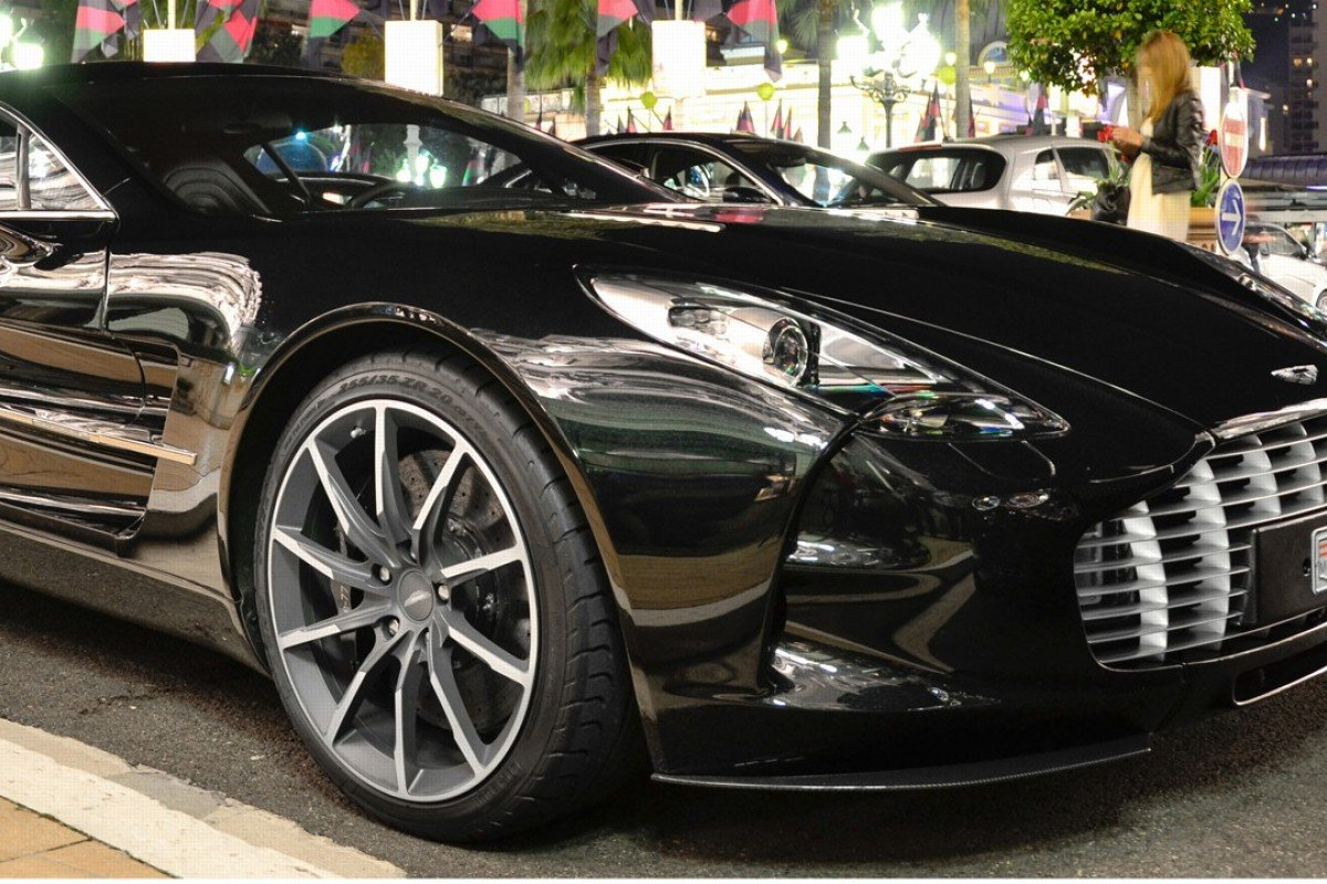 The Aston Martin One-77 above is one of only 77 worldwide. Another of these models is currently on sale in New Zealand for NZ$4 million.