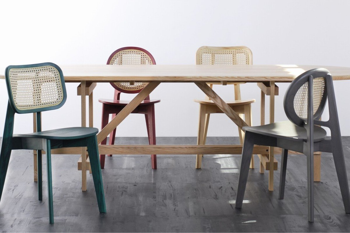 Beau Cane Chairs By Atelier 2+. Picture: Rodtham Theeranithi