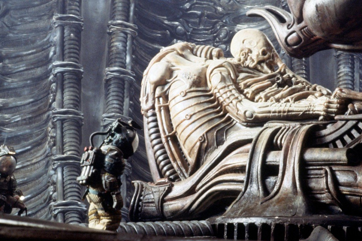 A still from Alien. Ridley Scott's film is an example of what commercial cinema can aspire to, even on a limited budget.