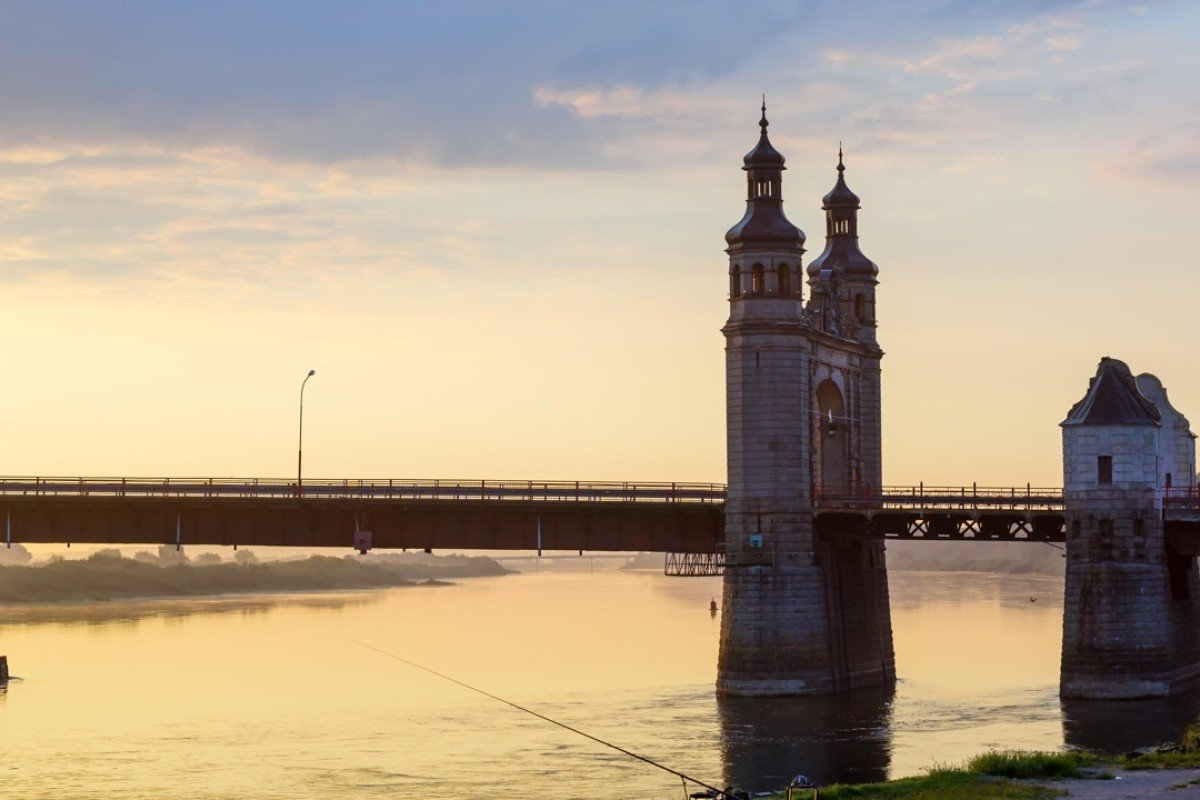 Entry to Kaliningrad can be gained across the Queen Louise Bridge, on the River Neman. Picture: Alamy