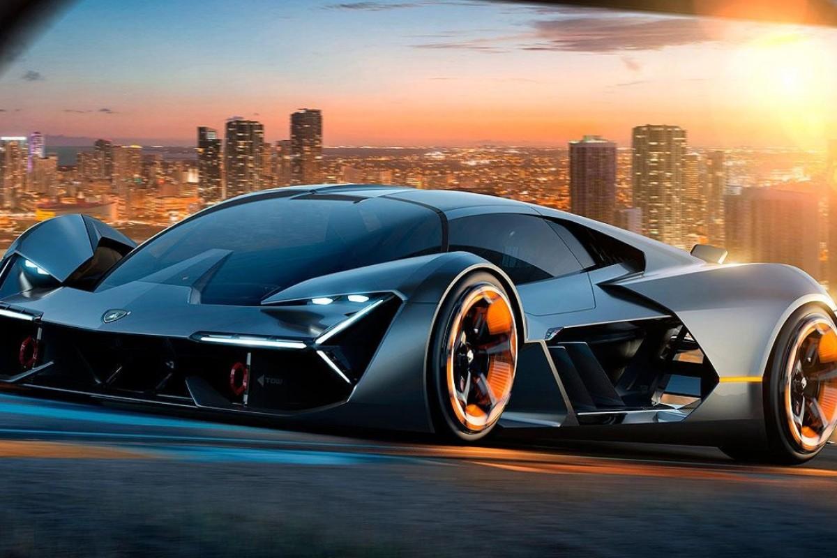 Lamborghini's concept car, the Terzo Millennio, Photo: Lamborghini
