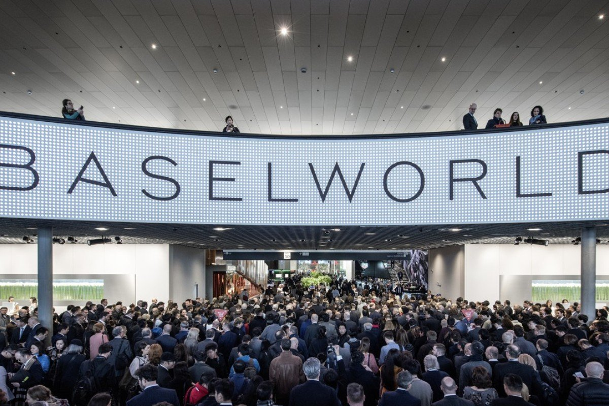 Baselworld Watch and Jewellery Show in Basel, Switzerland.