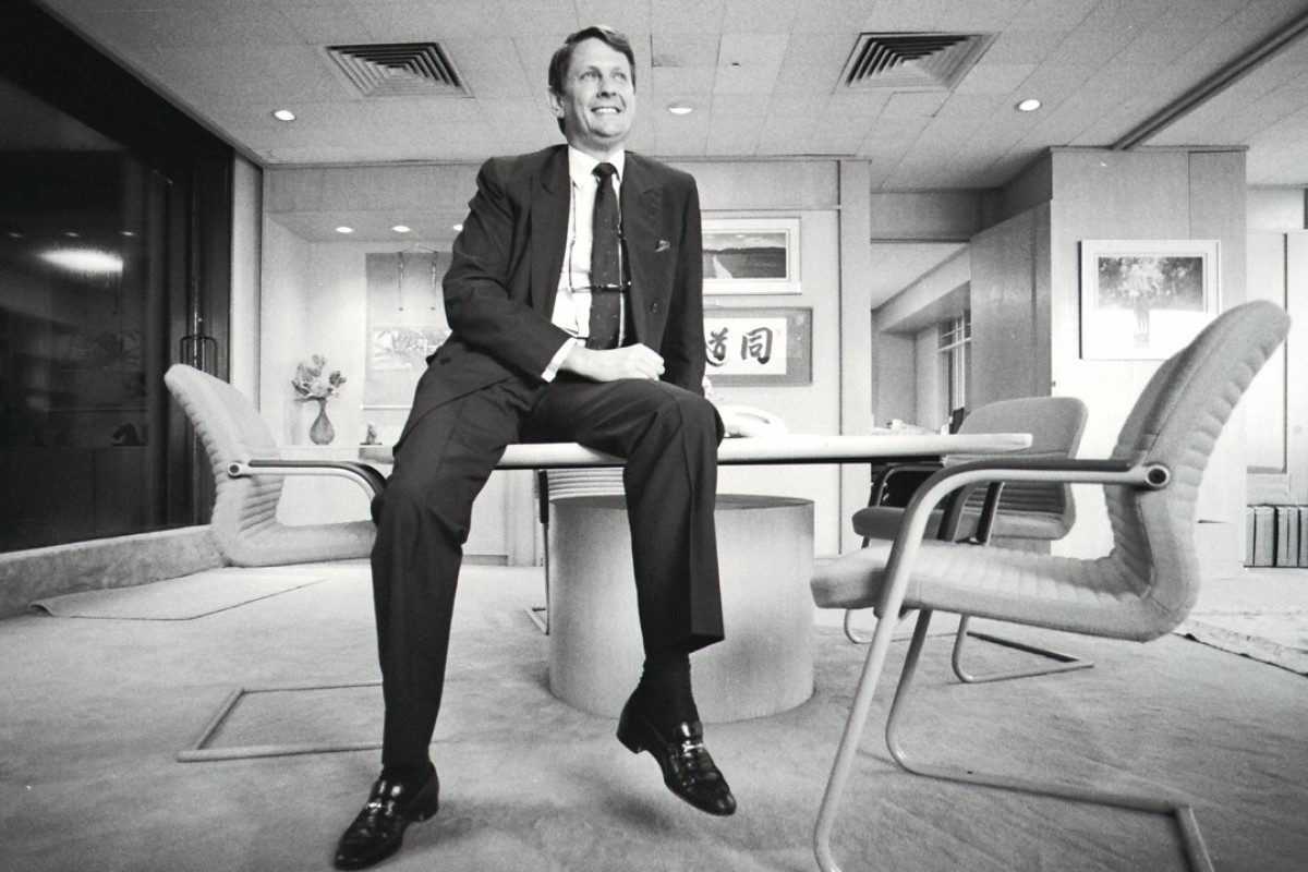 Dobbs-Higginson, in July 1990, when he was chairman of Merrill Lynch Asia Pacific, in Hong Kong. Picture: SCMP