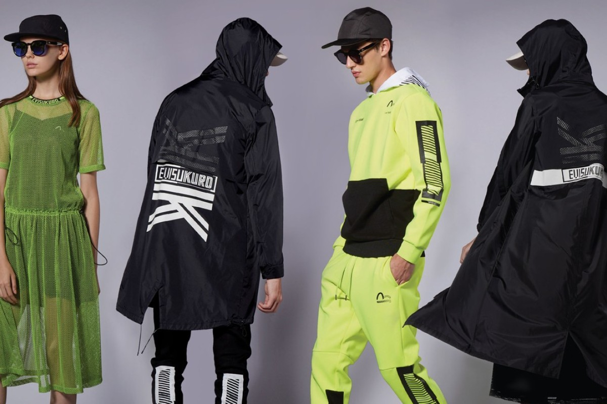 Evisu's new Evisukuro line is a trendy collection combining fashion and athleisure targeted at the younger generations.