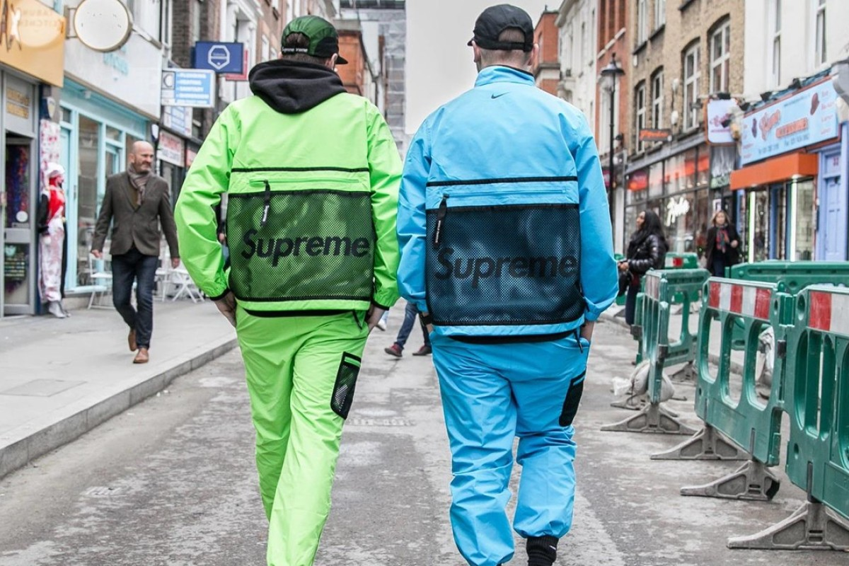 Supreme creates its own iterations of outdoor outerwear. Photo: Ben Awin/Hypebeast