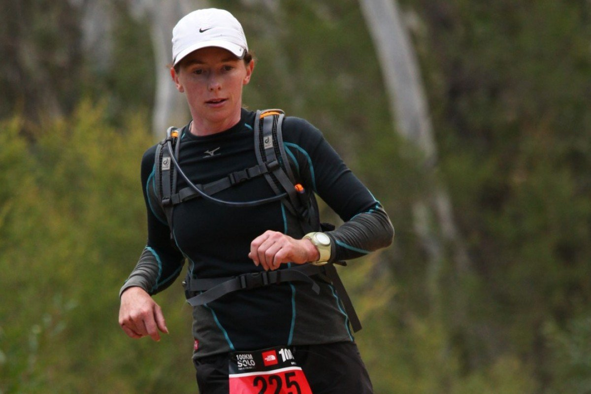 Meredith Quinlan is the joint record holder for the 253km Larapinta Trail – could she be the first woman to break 60? Photo: The North Face