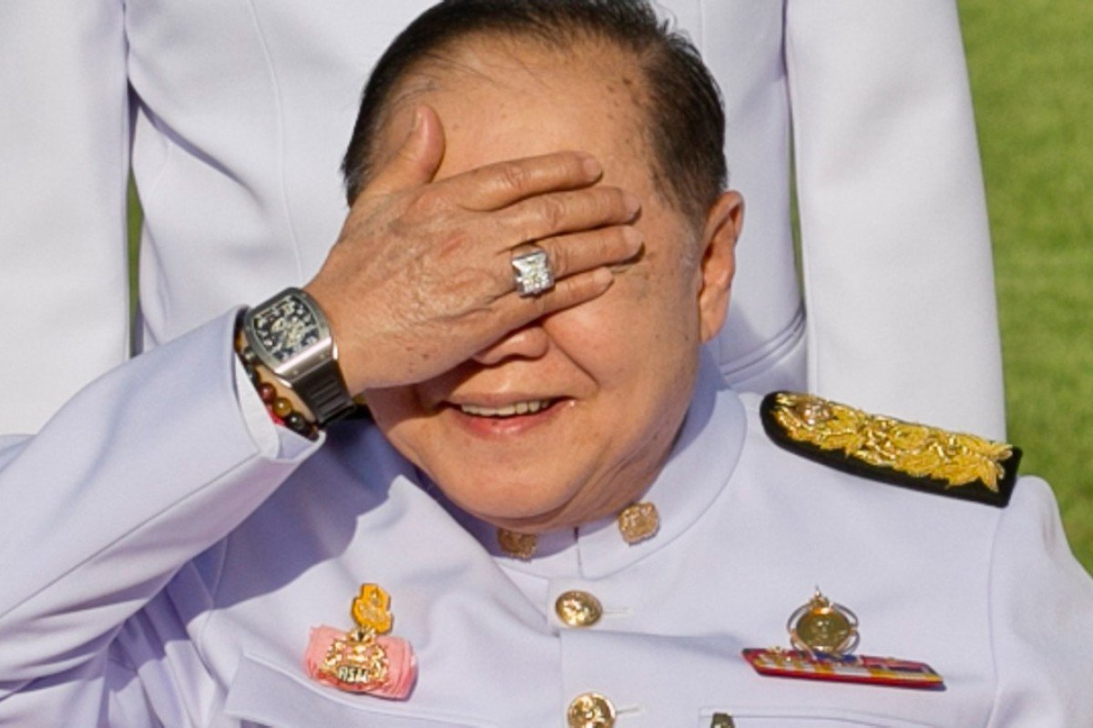 Thailand's king of bling, Prawit Wongsuwon. Photo: AFP