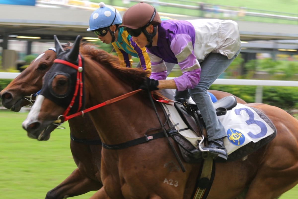 Applause trials at Happy Valley in October. Photos: Kenneth Chan