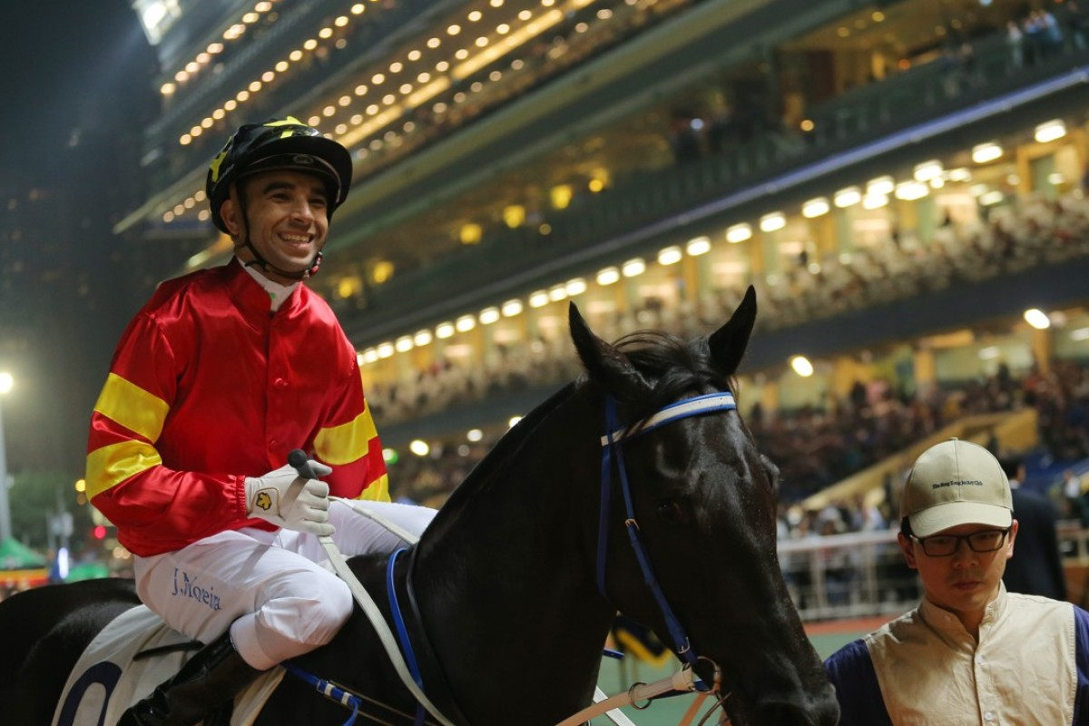 Joao Moreira returns on Marvel Hero after a win in March. Photos: Kenneth Chan.