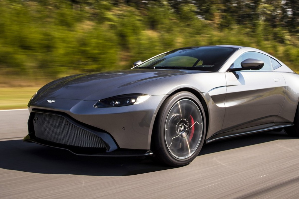 The New Vantage Is Powered By A 4 Litre Twin Turbo V8 Engine With