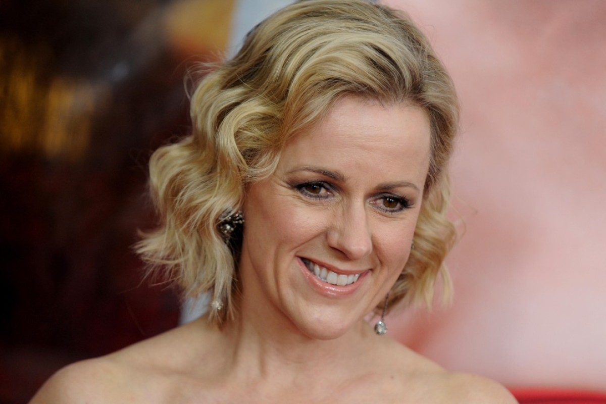 Former Hong Kong journalist Jojo Moyes at the Me Before You world premiere in New York, in 2016. Picture: Alamy