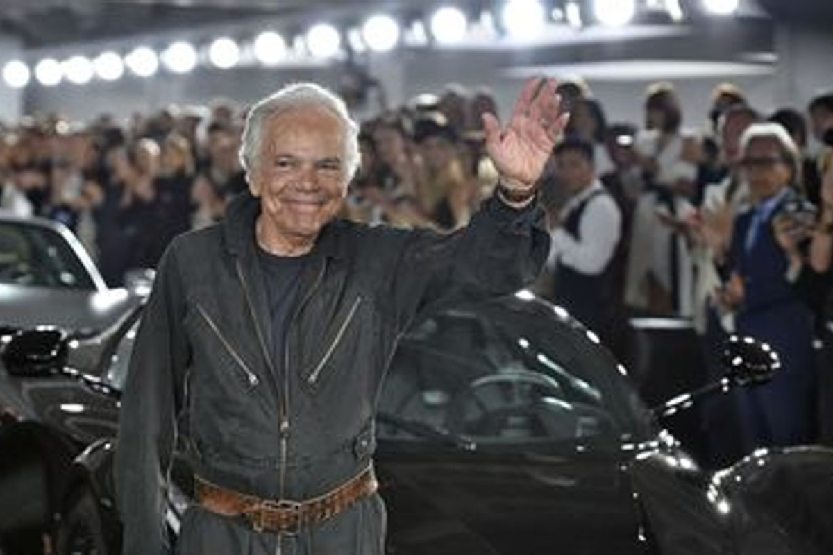 Ralph Lauren is keen to revive his luxury brand's fortunes. Photo: Victor Virgile/Gamma-Rapho