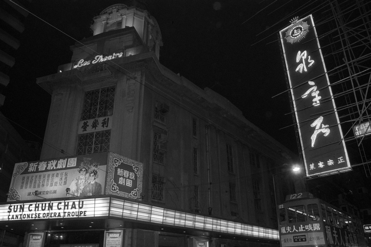 Demolished in the 1990s, the Beaux-Arts-style Lee Theatre in Causeway Bay was built in 1925. Picture: SCMP