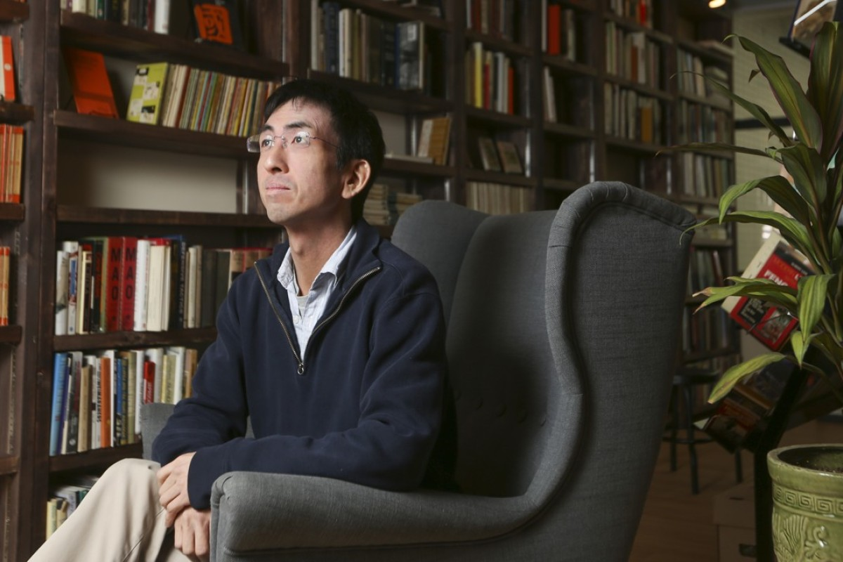 Bleak House Books owner Albert Wan in his San Po Kong store. Pictures: Xiaomei Chen