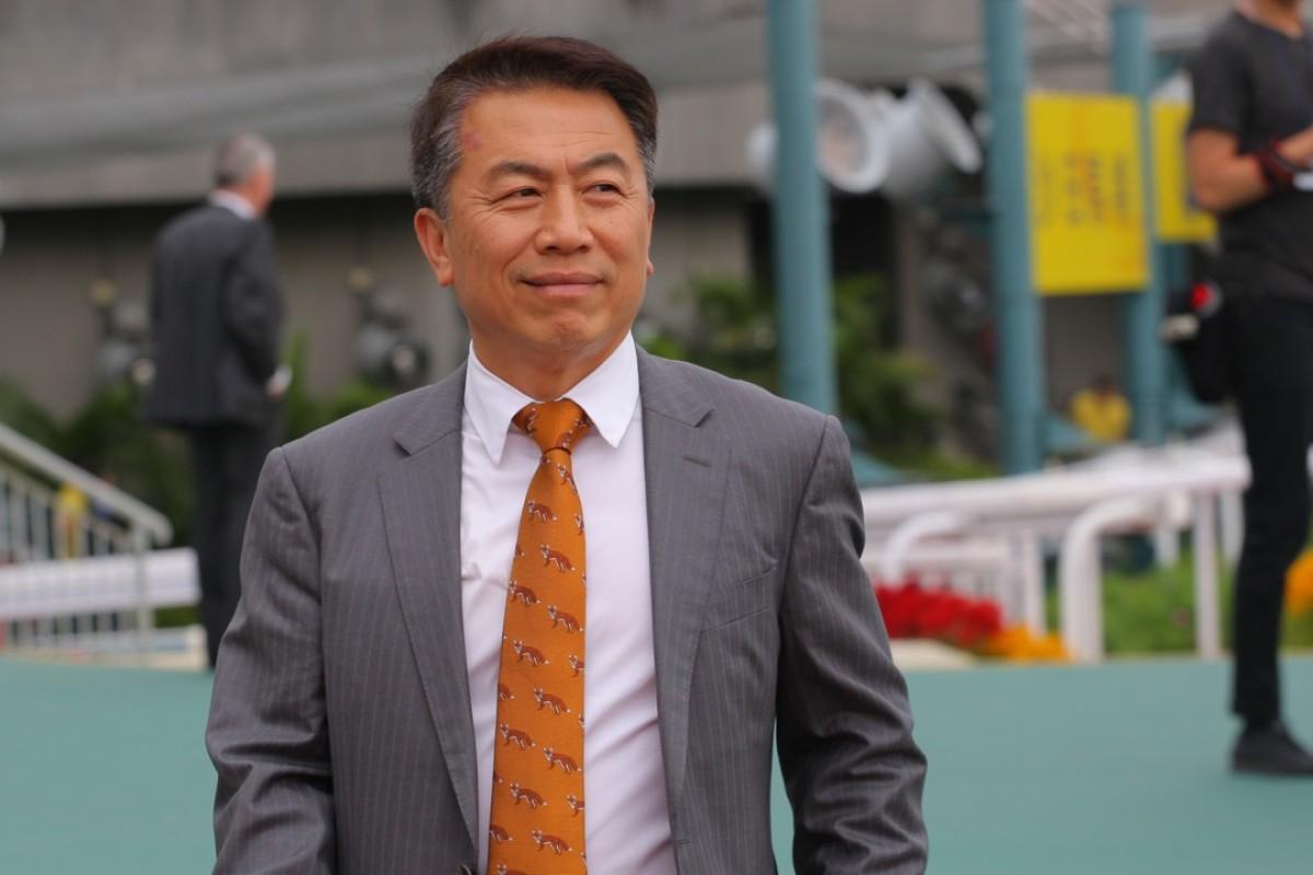 Trainer Ricky Yiu. Photos: Kenneth Chan
