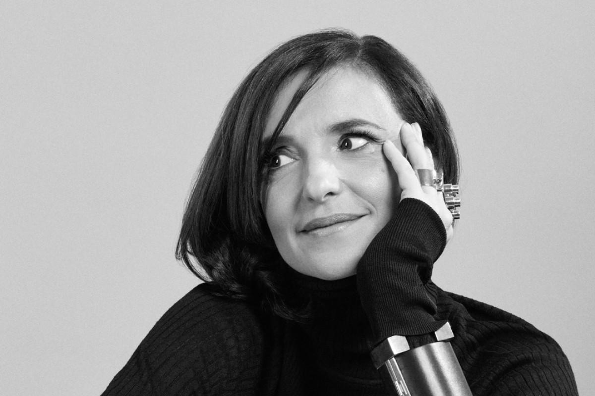 Accessories designer Mercedes Castillo