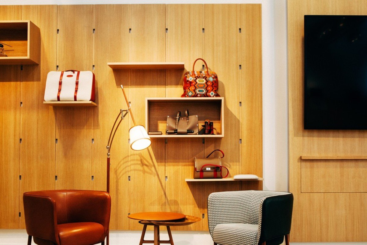 Hermès has a popular furniture and home accessories collection. Photo: Lucien Lung