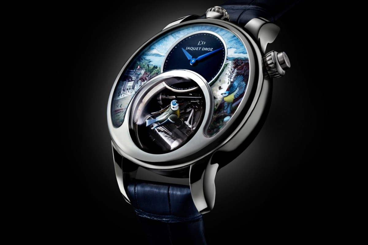 Jaquet Droz's The Charming Bird watch