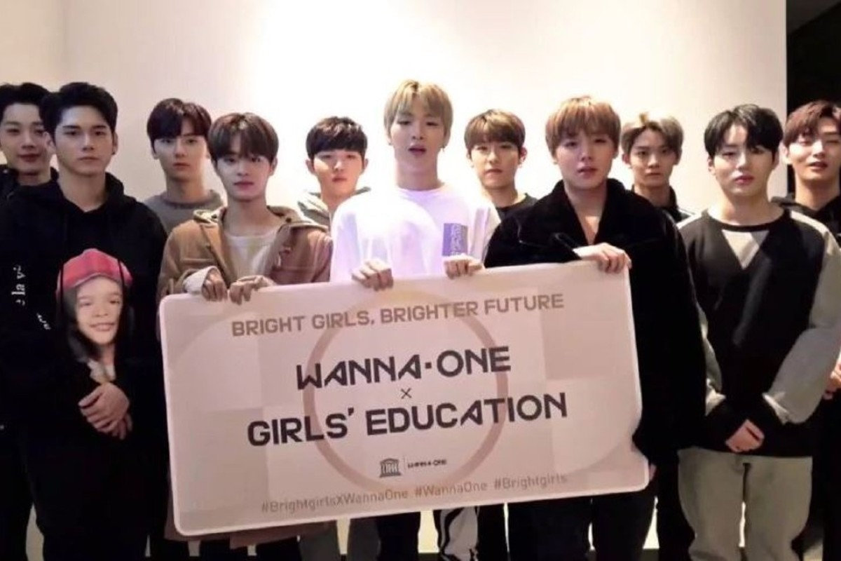 K pop boy band wanna one and unesco help girls around globe get the 11 members of k pop group wanna one fully support womens empowerment and stopboris Choice Image