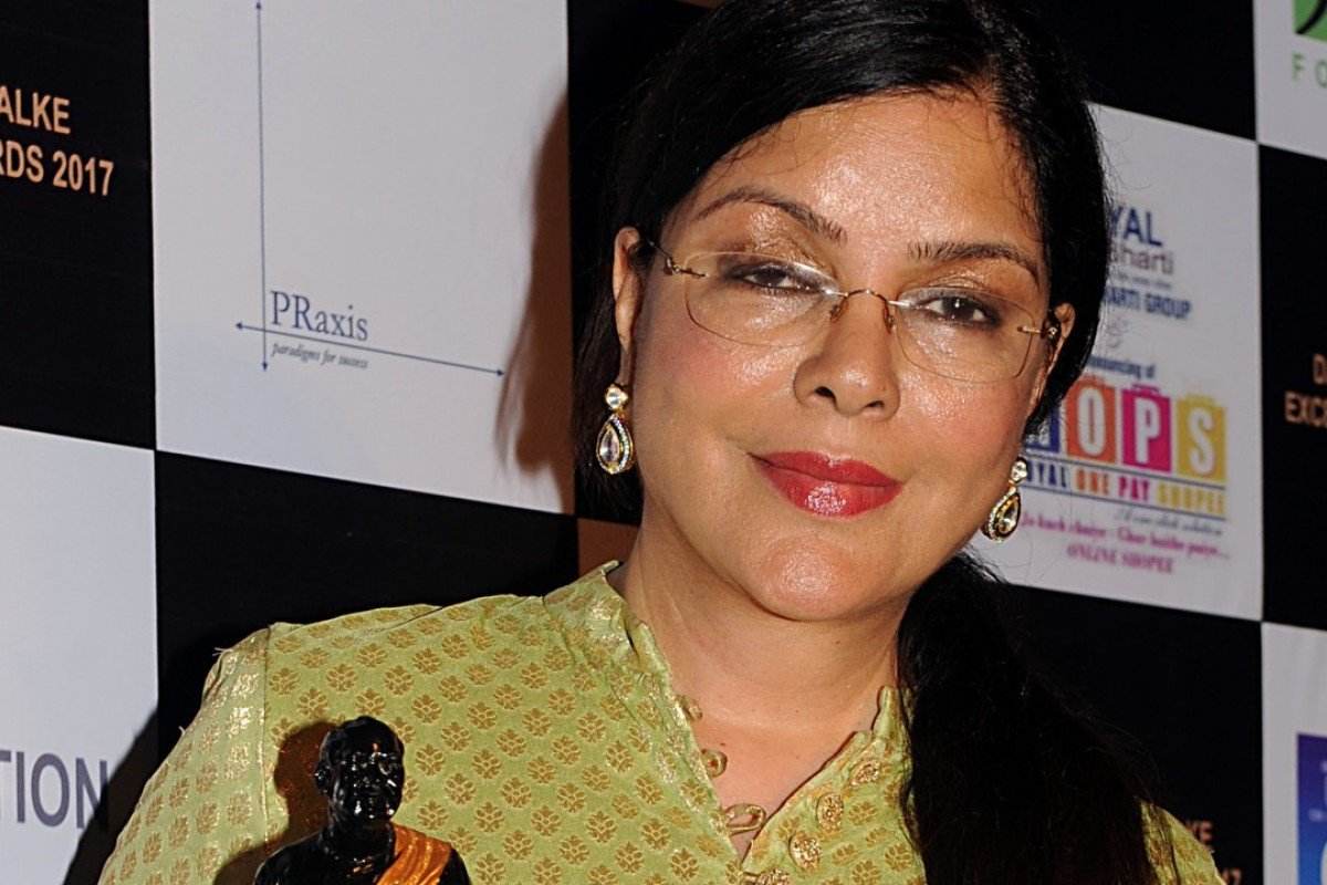 'Life is a journey and every chapter is very interesting,' says Zeenat Aman, Photo: AFP