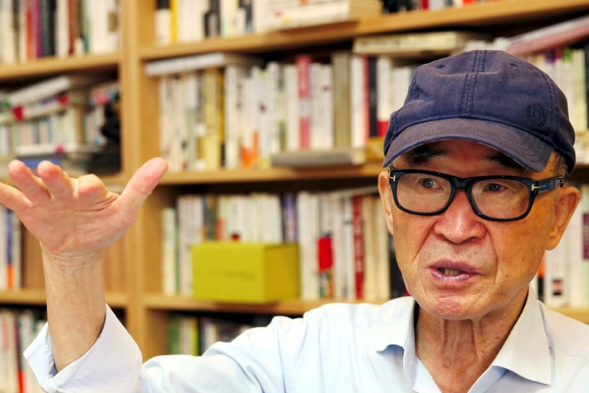 South Korean poet Ko Un, who has been accused of masturbating in public and using his literary influence to coerce young writers to have sex with him. Photo: AFP