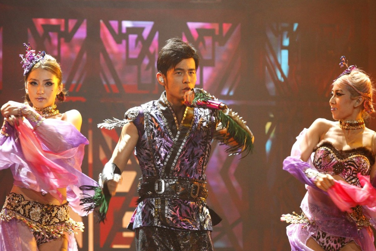 Jay Chou charms the audiences at his concert at AsiaWorld-Expo in November 2014.