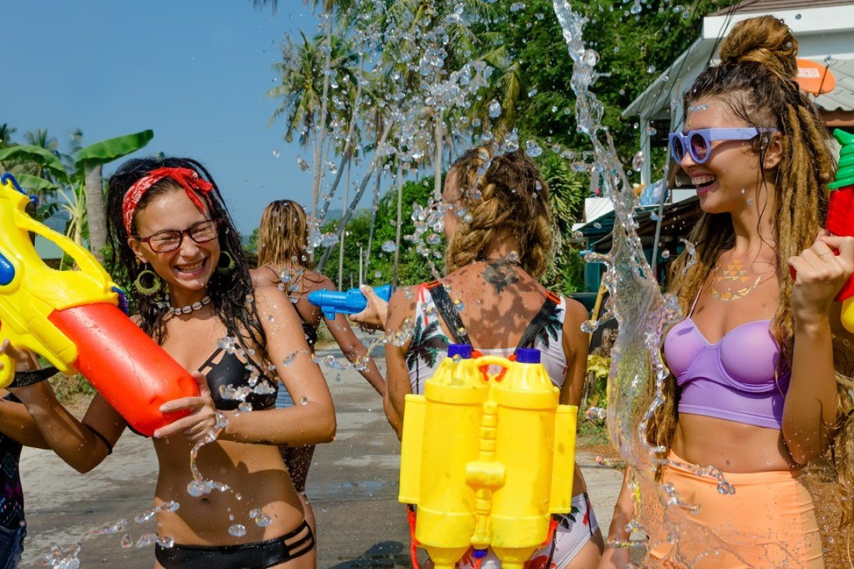 Female tourists have been advised to cover up for Songkran. Photo: Shutterstock