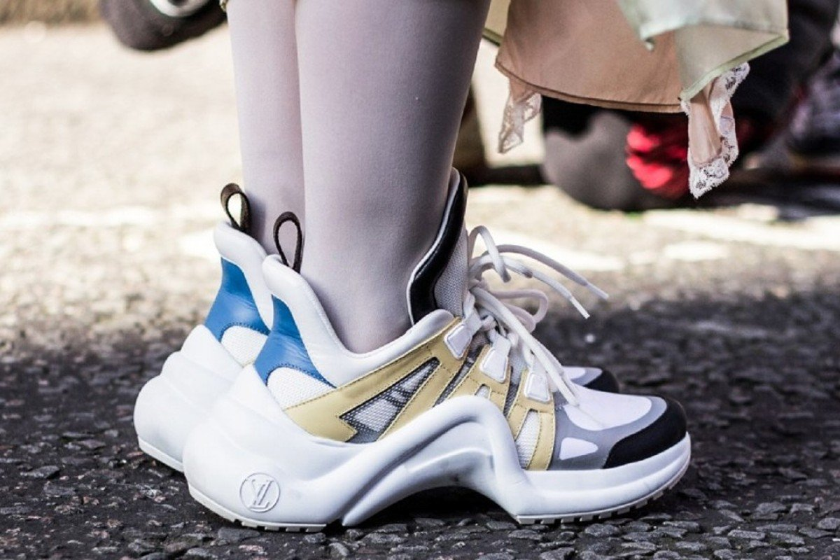 "Louis Vuitton's LV Archlight, proud torchbearers of the ""ugly"" trainer trend."