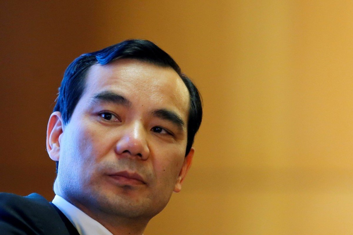 Wu Xiaohui, once the owner of Anbang Group, one of the China's largest insurers, became the first 'big croc' to be on trial on charges of illegal fundraising and embezzling. Photo: Reuters
