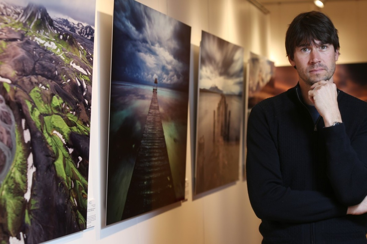 Photographer Keith Ladzinski at The Haven by Jacada Travel in Central. Picture: Xiaomei Chen