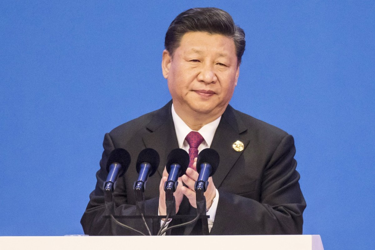 Chinese President Xi Jinping speaks at the Boao Forum. Photo: Bloomberg