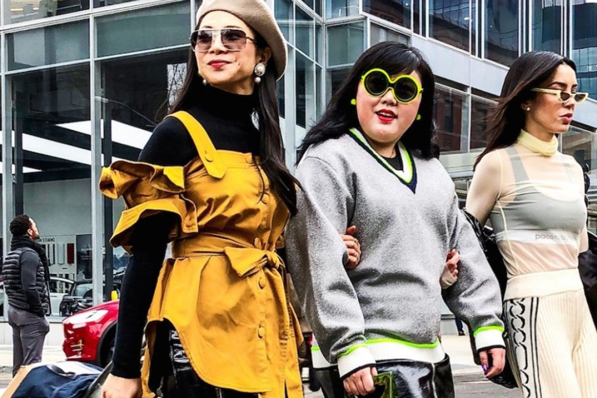 Fashion blogger Scarlett Hao (centre) is a New York University student who has a strong following among Chinese students in the United States. Photo: Scarlett Hao/Instagram