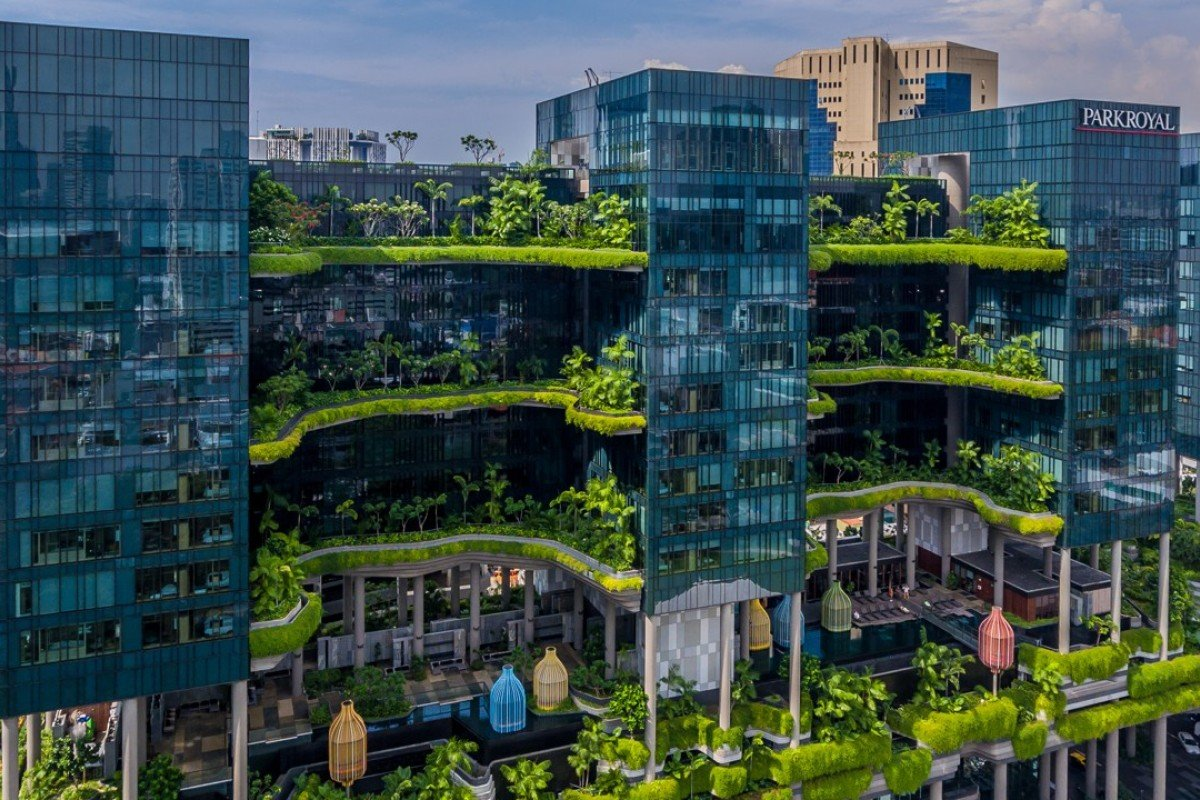 The Parkroyal on Pickering has been voted Asia's Leading Green Hotel at the World Travel Awards for the past three years.