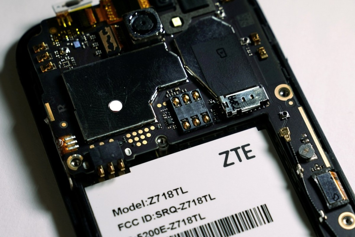 Threats of a trade war with the US have put the future of Chinese smartphone maker ZTE in doubt. Photo: Reuters