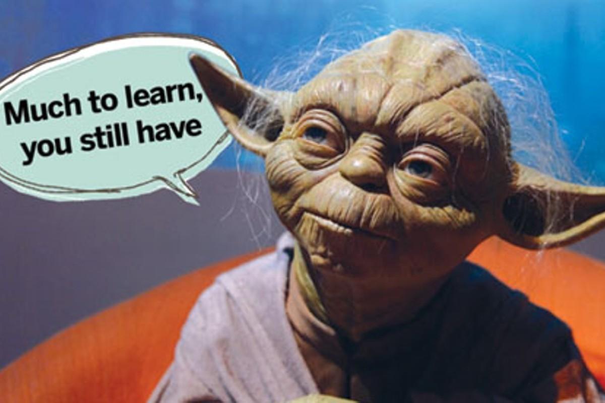 Yoda's distinctive speech pattern borrows from a rare Hawaiian construction.
