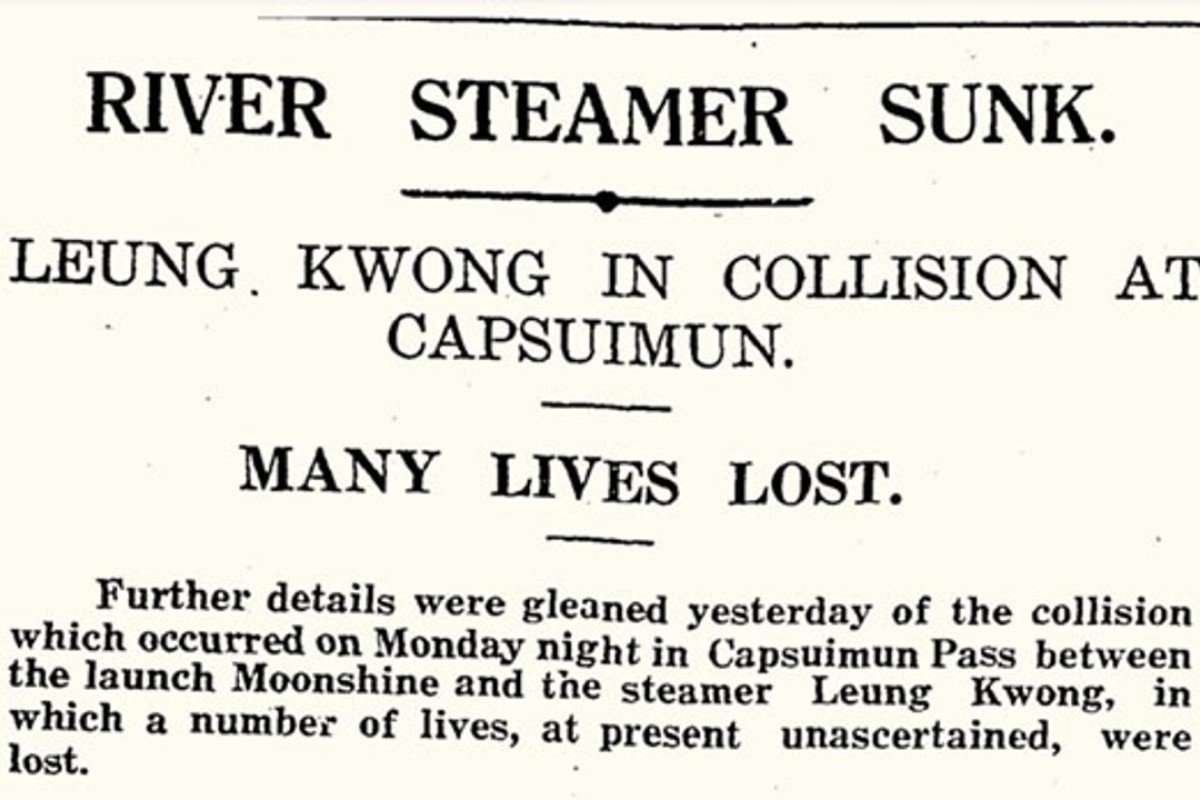 The South China Morning Post headline on May 11, 1927. Picture: SCMP