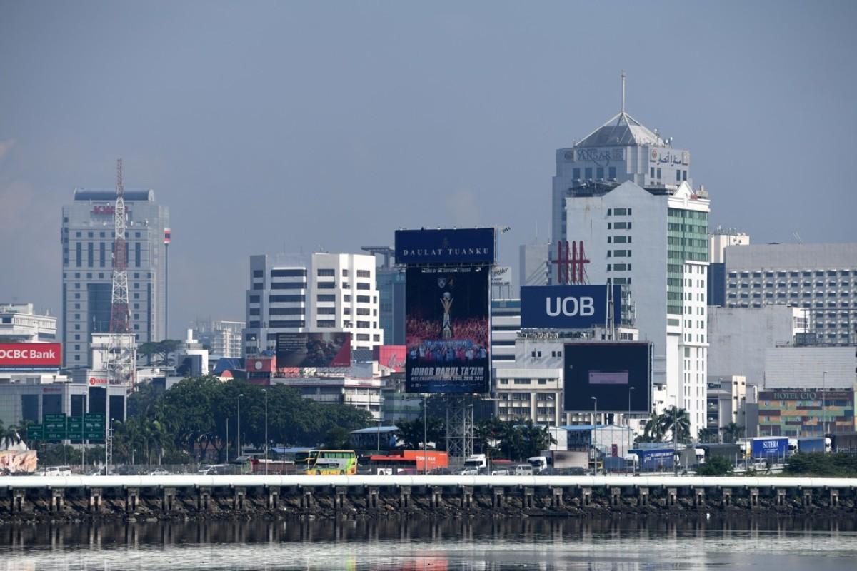 The Malaysian city of Johor Bahru. Photo: AFP